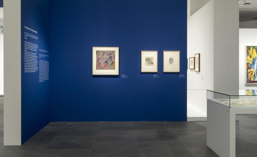 Vue de l'exposition Franz Marc - August Macke, Musée de l'Orangerie, Paris (2)