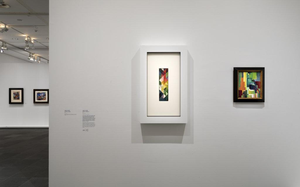 Vue de l'exposition Franz Marc - August Macke, Musée de l'Orangerie, Paris (23)