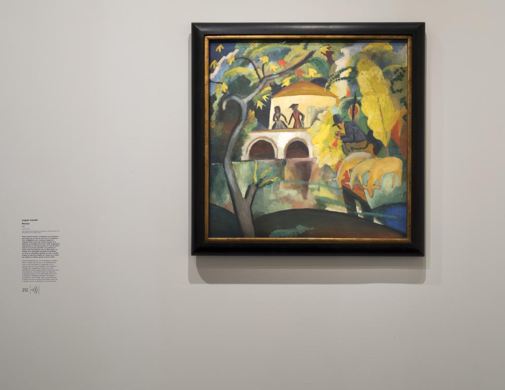 Vue de l'exposition Franz Marc - August Macke, Musée de l'Orangerie, Paris (25)