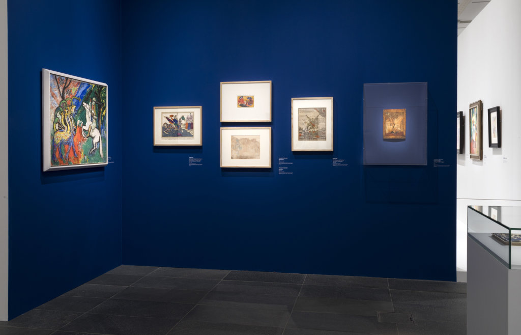 Vue de l'exposition Franz Marc - August Macke, Musée de l'Orangerie, Paris (26)
