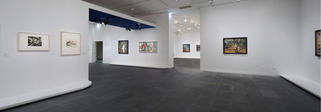 Vue de l'exposition Franz Marc - August Macke, Musée de l'Orangerie, Paris (7)
