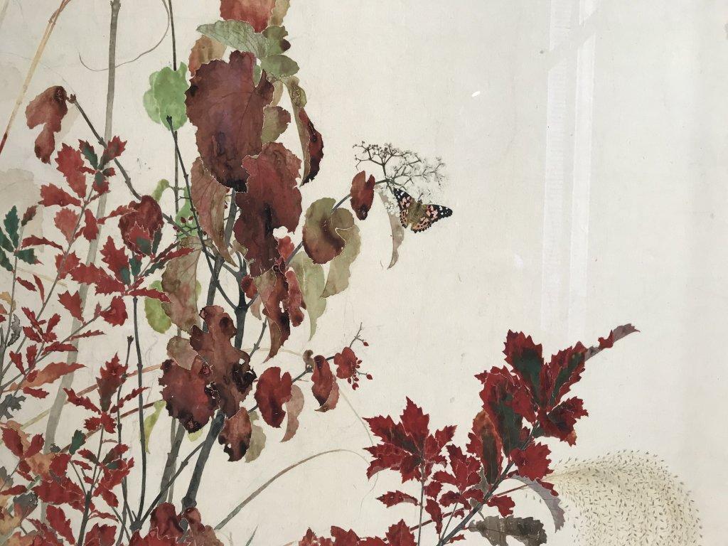 Vue de l'exposition Fukami - Hôtel Salomon de Rothschild