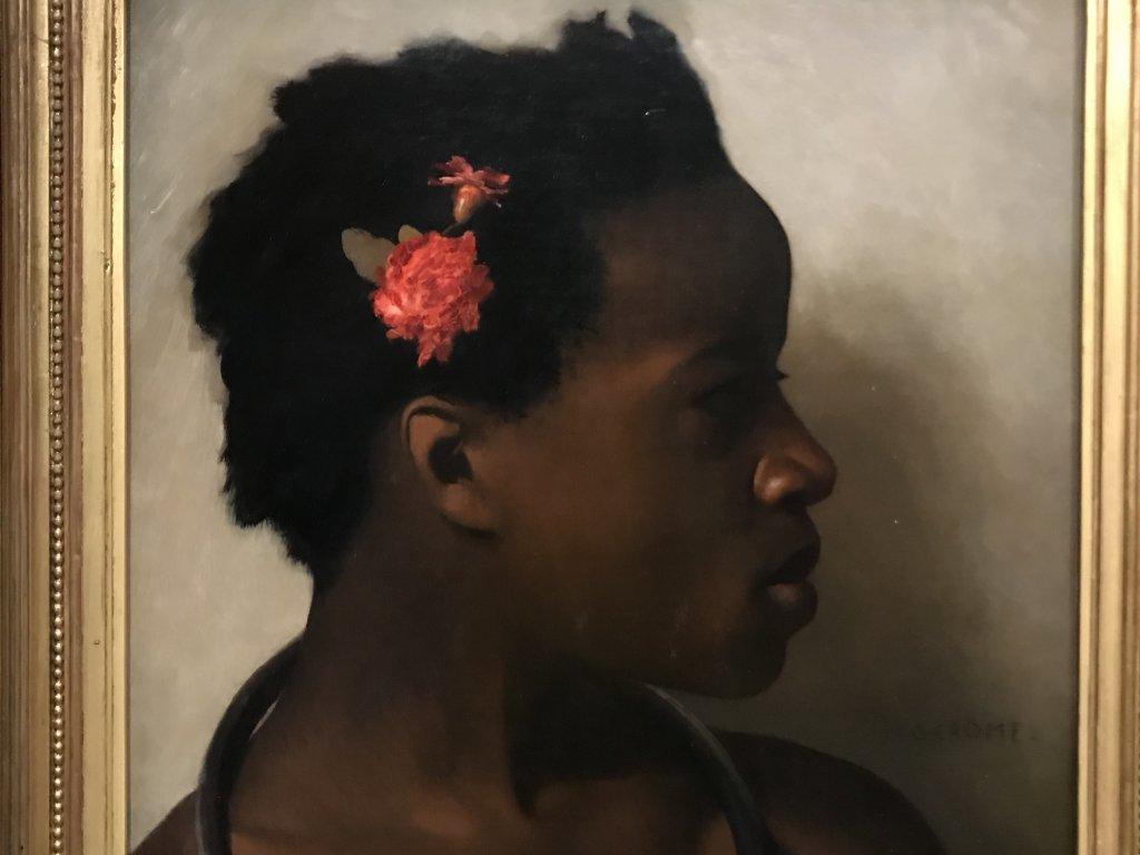 Vue de l'exposition le Modèle Noir, Musée d'Orsay, Paris (1)