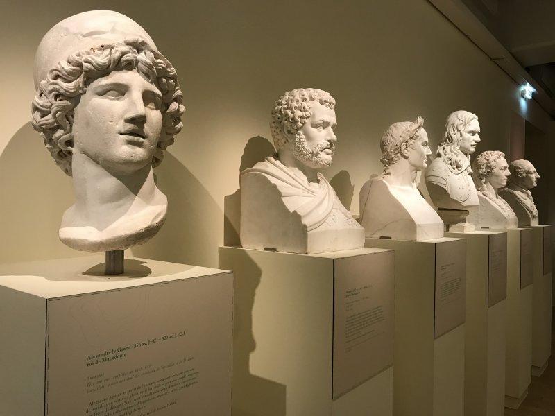 Vue de l'exposition Napoléon stratège - Musée de l'Armée