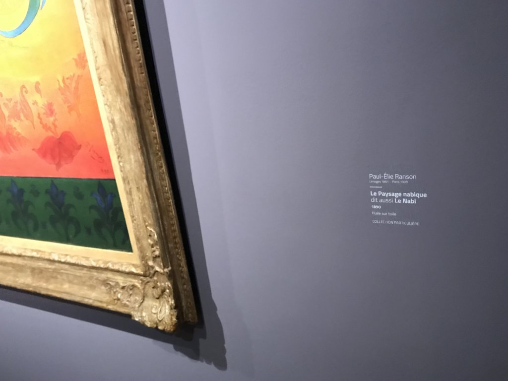 Vue de l'exposition Sérusier, Musée d'Orsay, Paris (10)