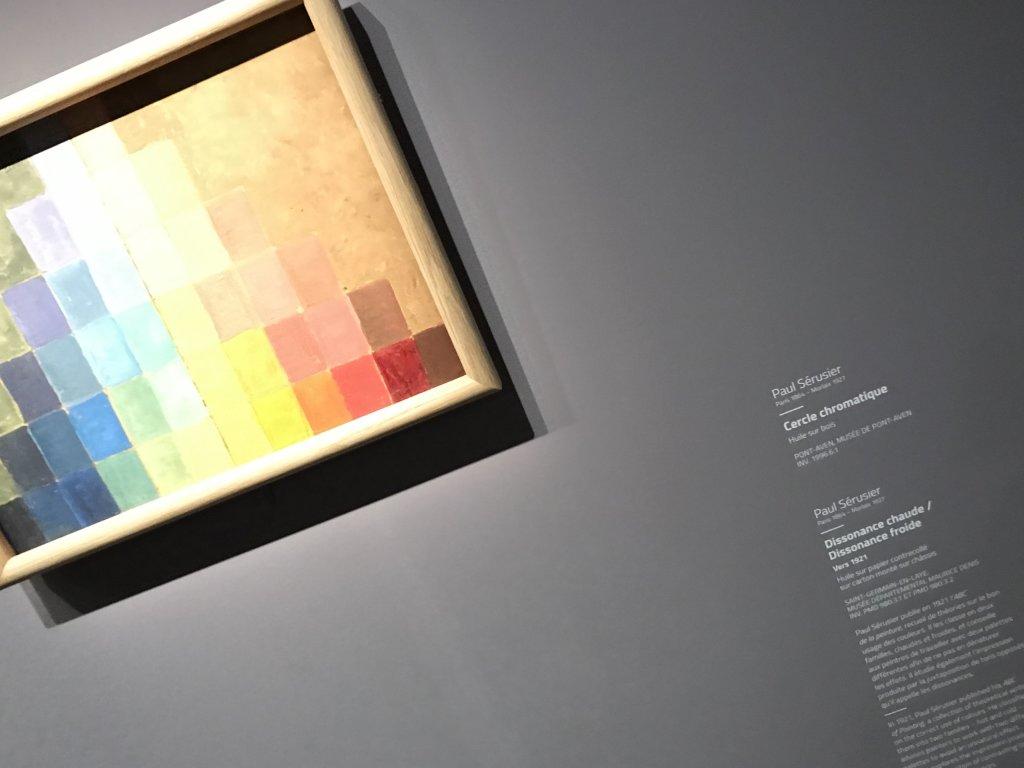 Vue de l'exposition Sérusier, Musée d'Orsay, Paris (12)