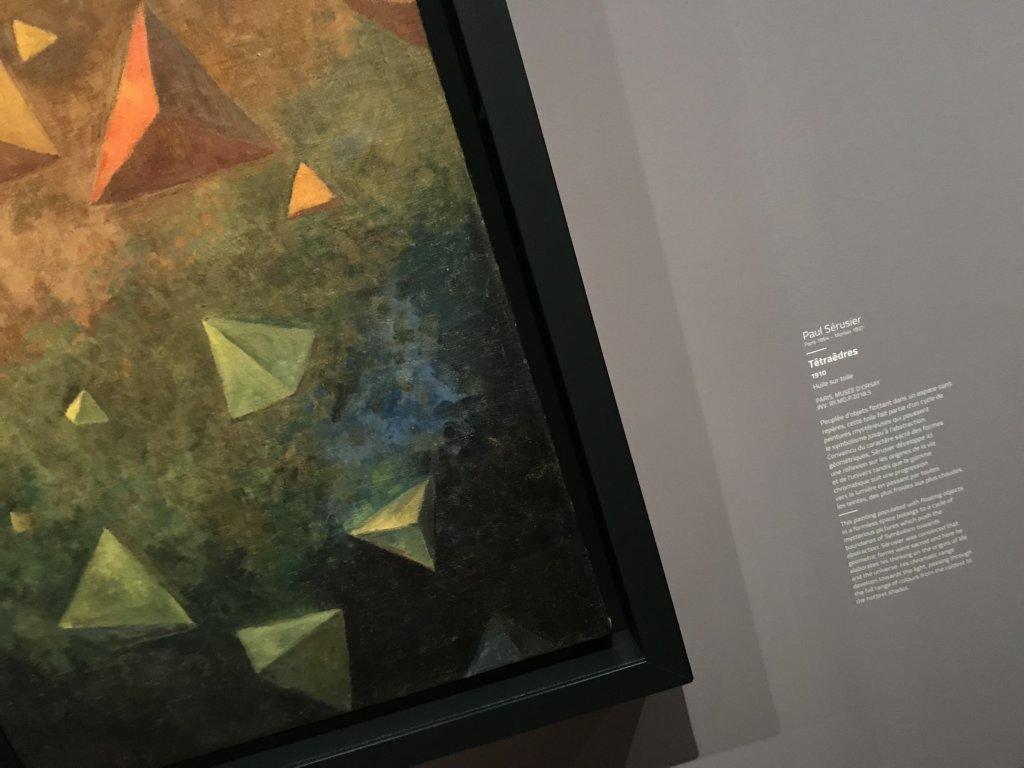Vue de l'exposition Sérusier, Musée d'Orsay, Paris (16)