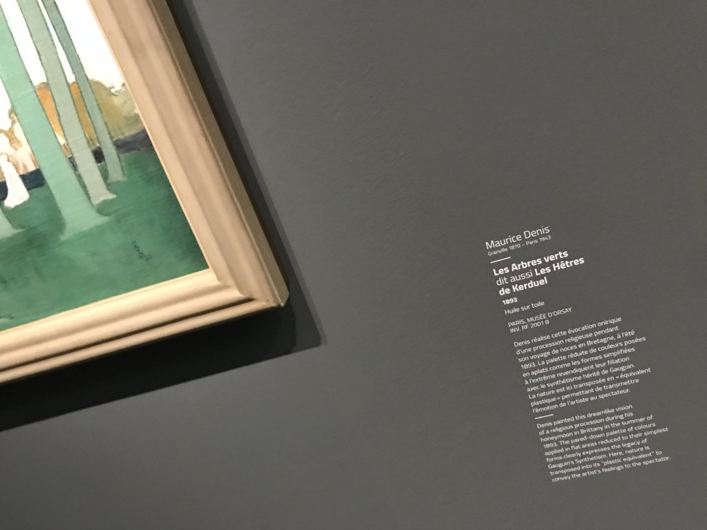 Vue de l'exposition Sérusier, Musée d'Orsay, Paris (28)