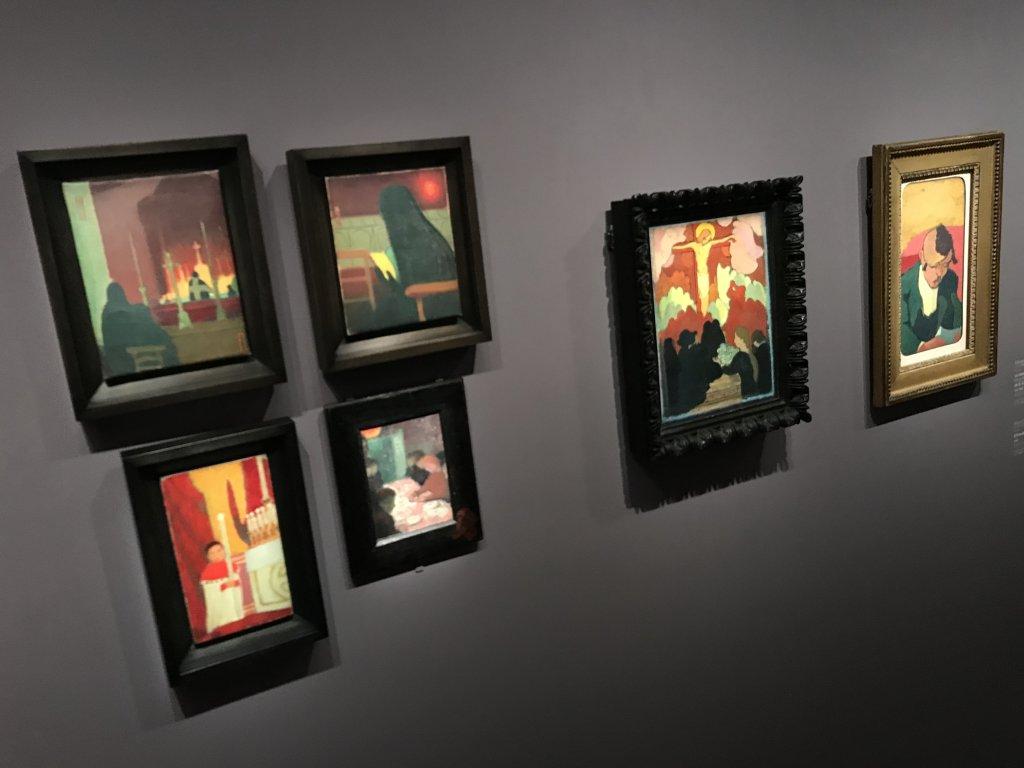 Vue de l'exposition Sérusier, Musée d'Orsay, Paris (49)
