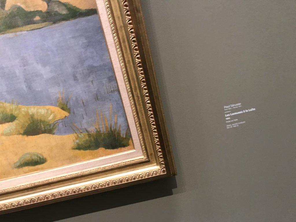 Vue de l'exposition Sérusier, Musée d'Orsay, Paris (5)