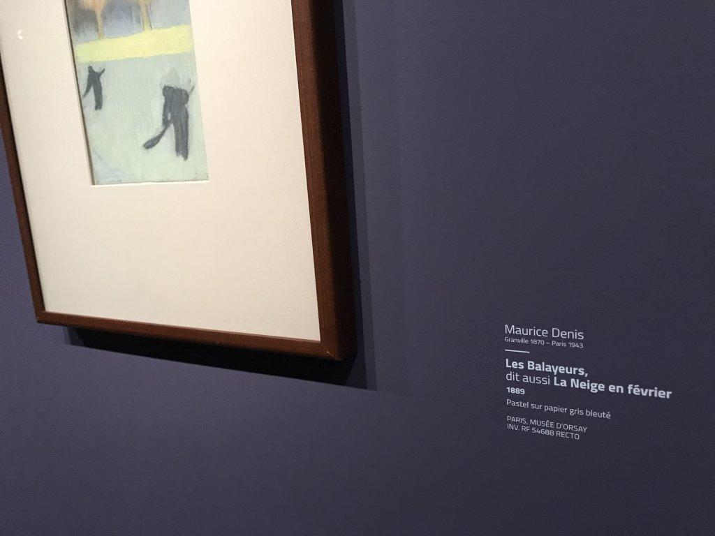 Vue de l'exposition Sérusier, Musée d'Orsay, Paris (51)