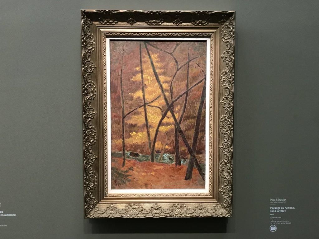 Vue de l'exposition Sérusier, Musée d'Orsay, Paris (52)