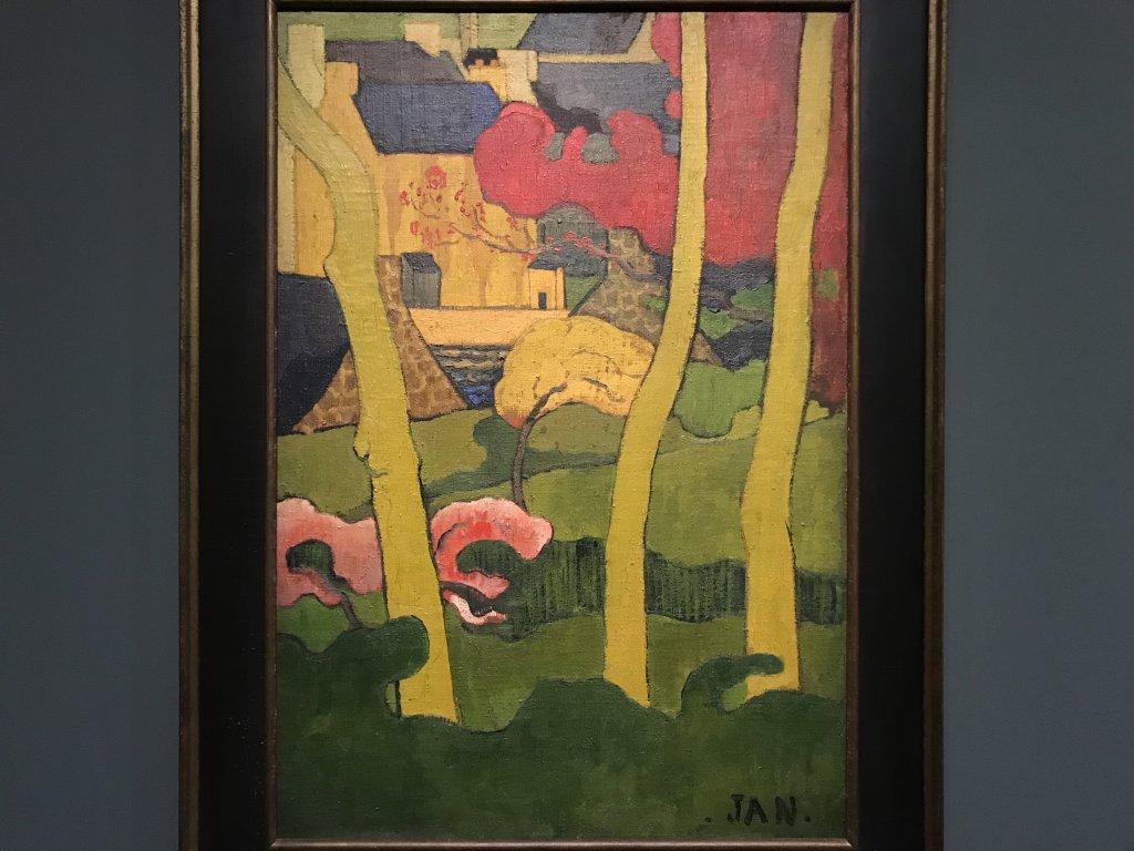 Vue de l'exposition Sérusier, Musée d'Orsay, Paris (54)