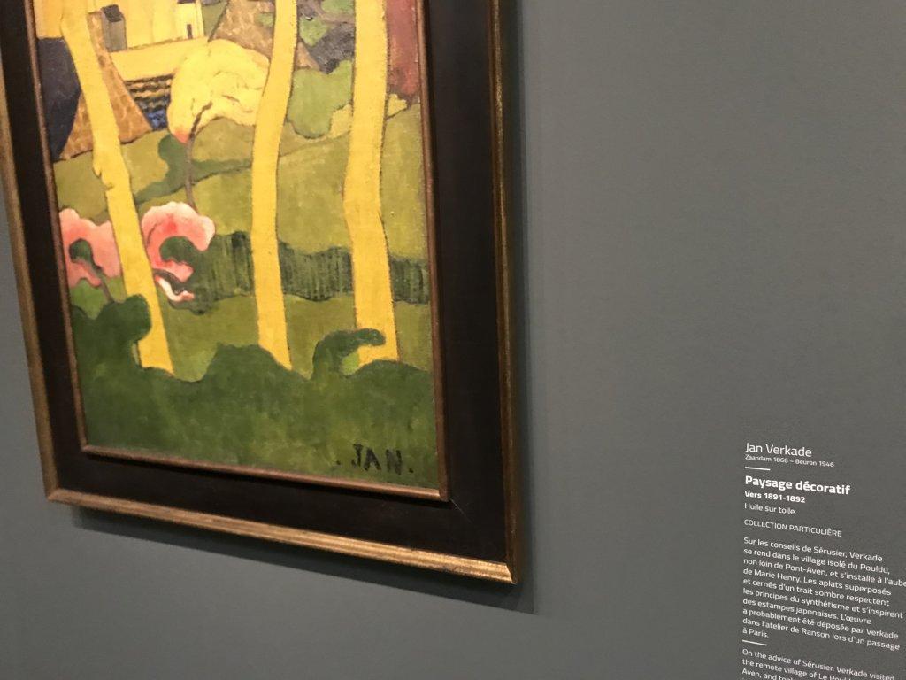 Vue de l'exposition Sérusier, Musée d'Orsay, Paris (55)