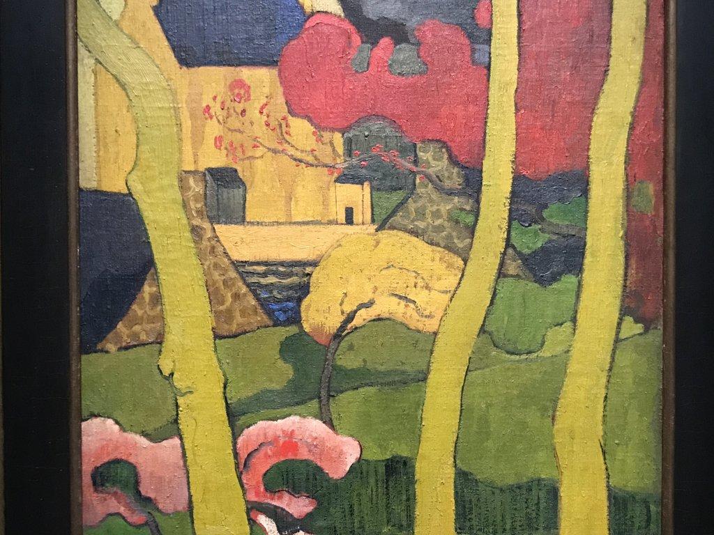 Vue de l'exposition Sérusier, Musée d'Orsay, Paris (56)