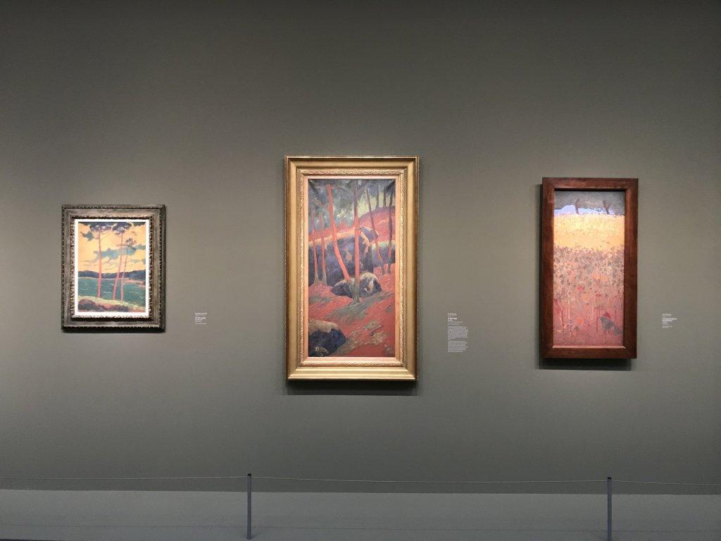 Vue de l'exposition Sérusier, Musée d'Orsay, Paris (57)