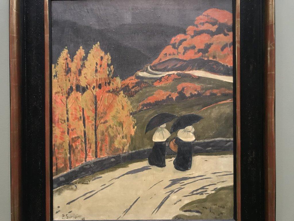 Vue de l'exposition Sérusier, Musée d'Orsay, Paris (58)