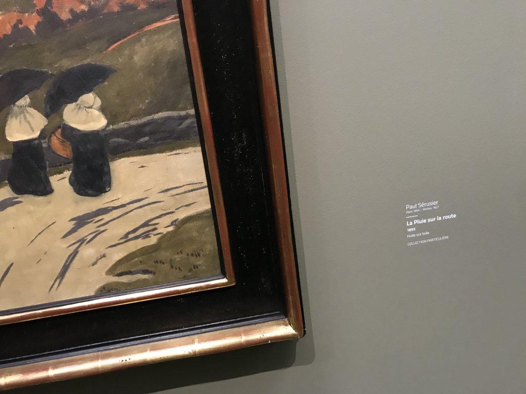 Vue de l'exposition Sérusier, Musée d'Orsay, Paris (59)