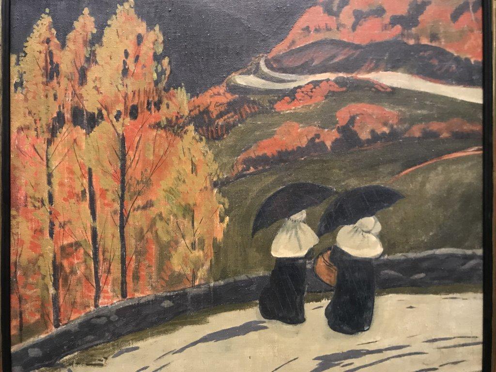 Vue de l'exposition Sérusier, Musée d'Orsay, Paris (60)