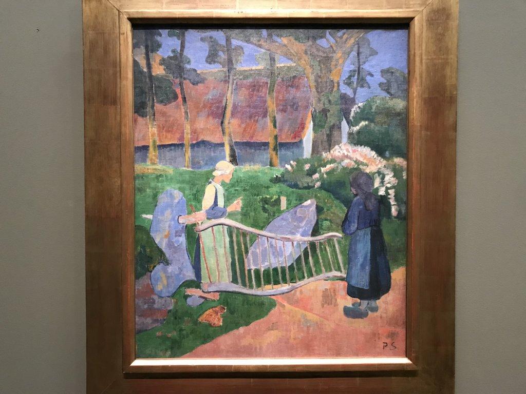Vue de l'exposition Sérusier, Musée d'Orsay, Paris (61)