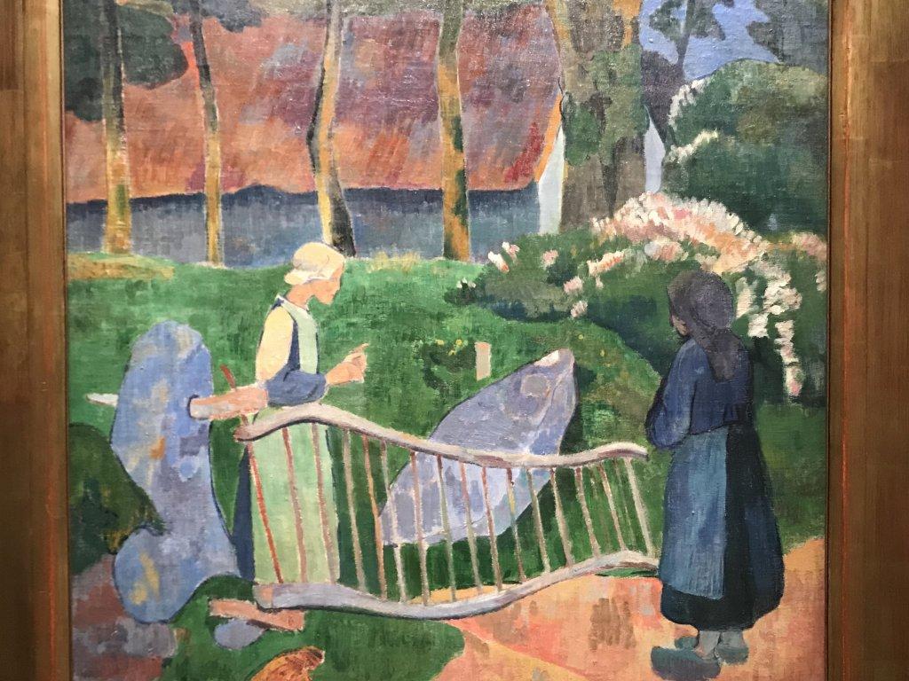 Vue de l'exposition Sérusier, Musée d'Orsay, Paris (62)