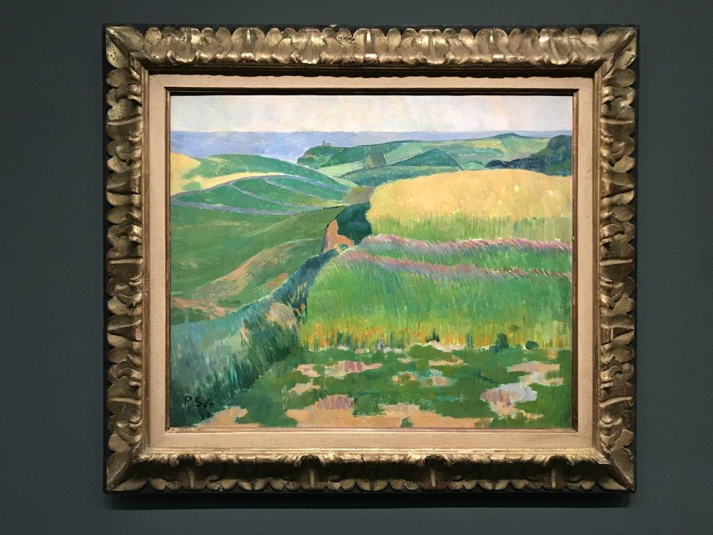 Vue de l'exposition Sérusier, Musée d'Orsay, Paris (64)