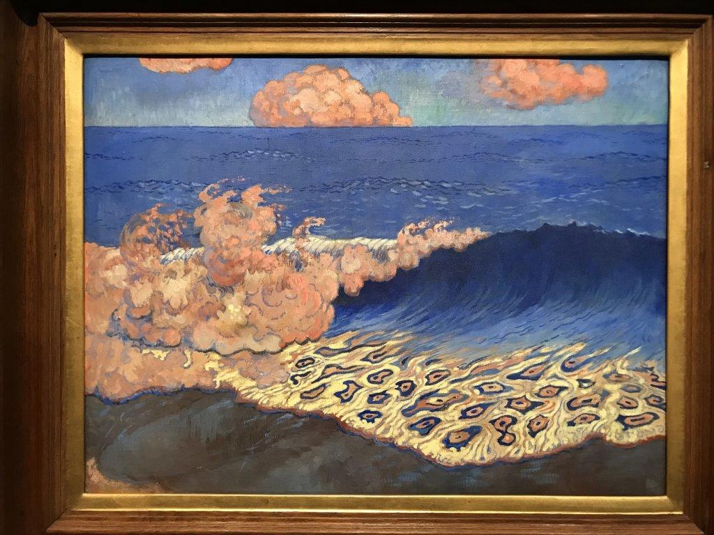 Vue de l'exposition Sérusier, Musée d'Orsay, Paris (66)