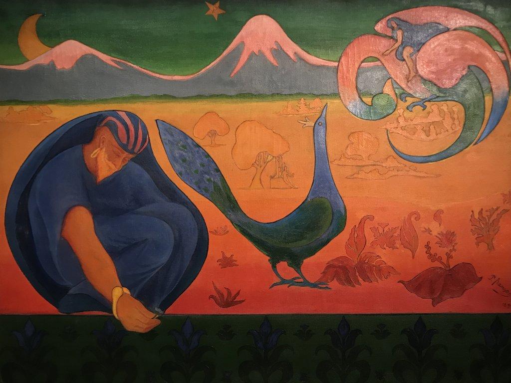 Vue de l'exposition Sérusier, Musée d'Orsay, Paris (8)