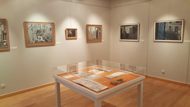Vue de l'exposition Sur le motif - Musée d'art et d'histoire Louis Senlecq