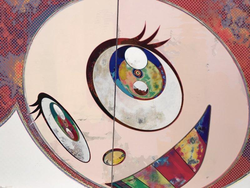 Vue de l'exposition Takashi Murakami - Fondation Louis Vuitton