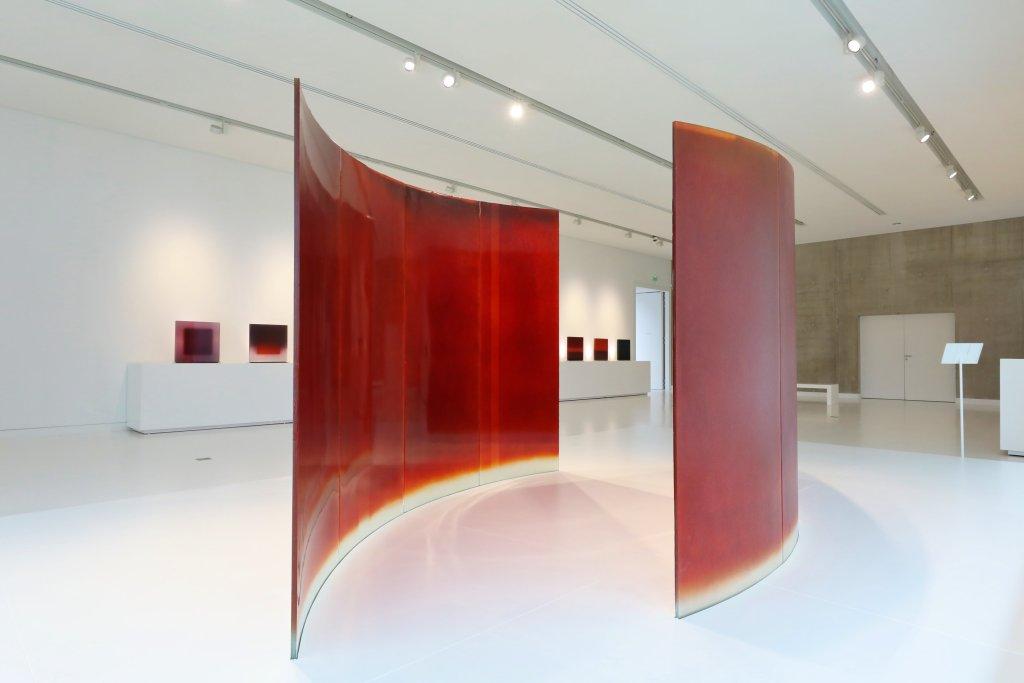 Vue de l'exposition Udo Zembok