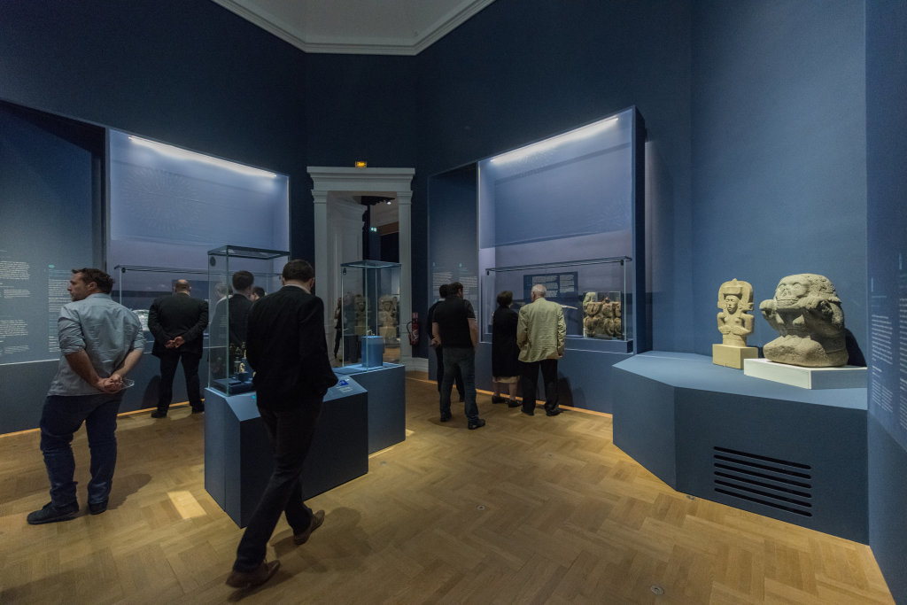 Vue de l'exposition Une histoire du monde en 100 objets du British Muséum - Musée des Beaux-Arts de Valenciennes © Photos - Service communication ville de Valenciennes (1)
