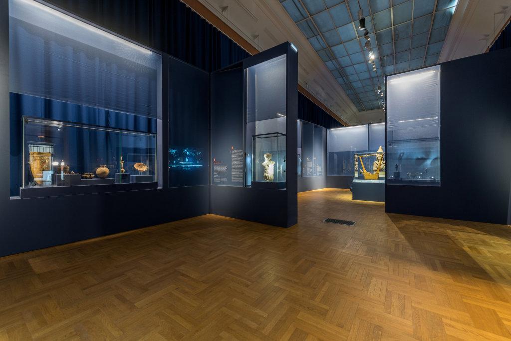 Vue de l'exposition Une histoire du monde en 100 objets du British Muséum - Musée des Beaux-Arts de Valenciennes © Photos - Service communication ville de Valenciennes (15)