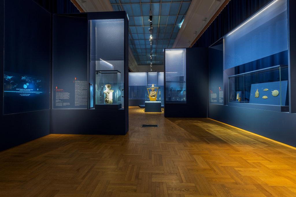 Vue de l'exposition Une histoire du monde en 100 objets du British Muséum - Musée des Beaux-Arts de Valenciennes © Photos - Service communication ville de Valenciennes (16)