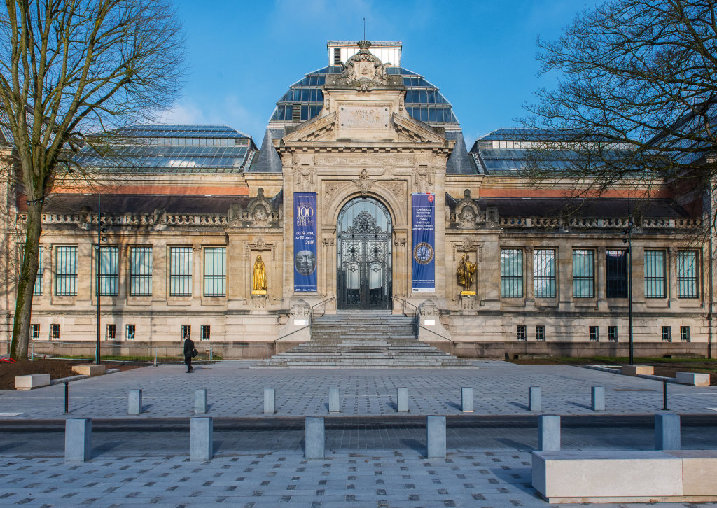 Vue de l'exposition Une histoire du monde en 100 objets du British Muséum - Musée des Beaux-Arts de Valenciennes © Photos - Service communication ville de Valenciennes (17)