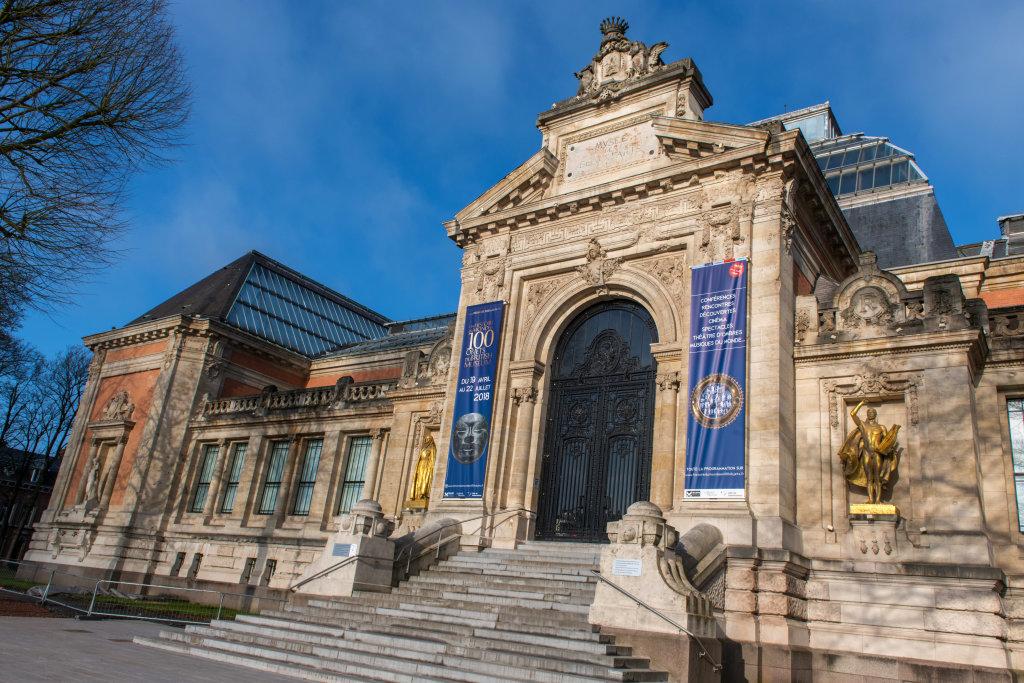 Vue de l'exposition Une histoire du monde en 100 objets du British Muséum - Musée des Beaux-Arts de Valenciennes © Photos - Service communication ville de Valenciennes (19)