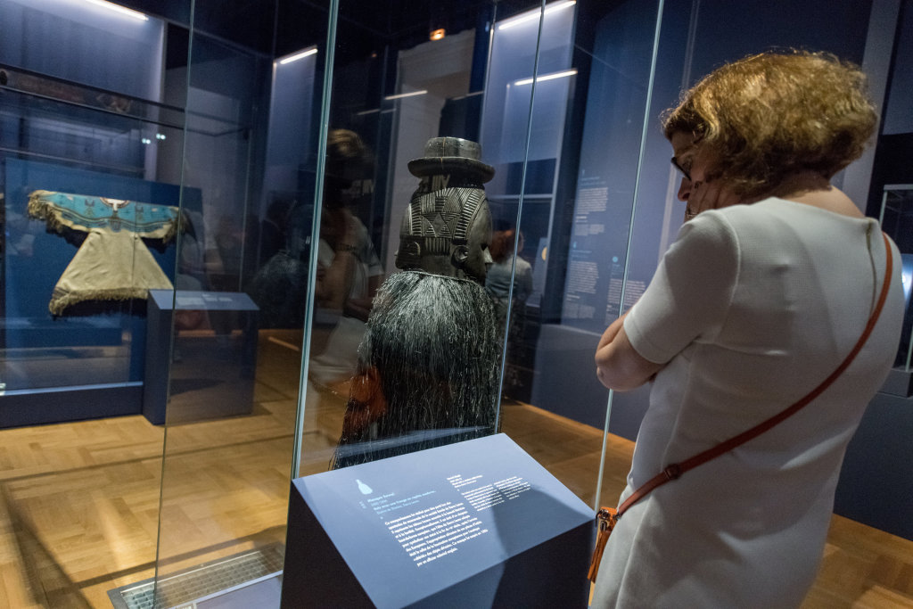 Vue de l'exposition Une histoire du monde en 100 objets du British Muséum - Musée des Beaux-Arts de Valenciennes © Photos - Service communication ville de Valenciennes (2)