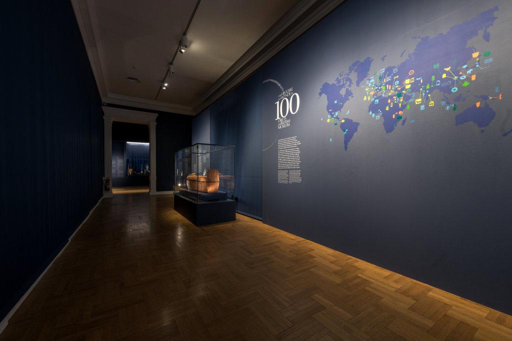 Vue de l'exposition Une histoire du monde en 100 objets du British Muséum - Musée des Beaux-Arts de Valenciennes © Photos - Service communication ville de Valenciennes (23)