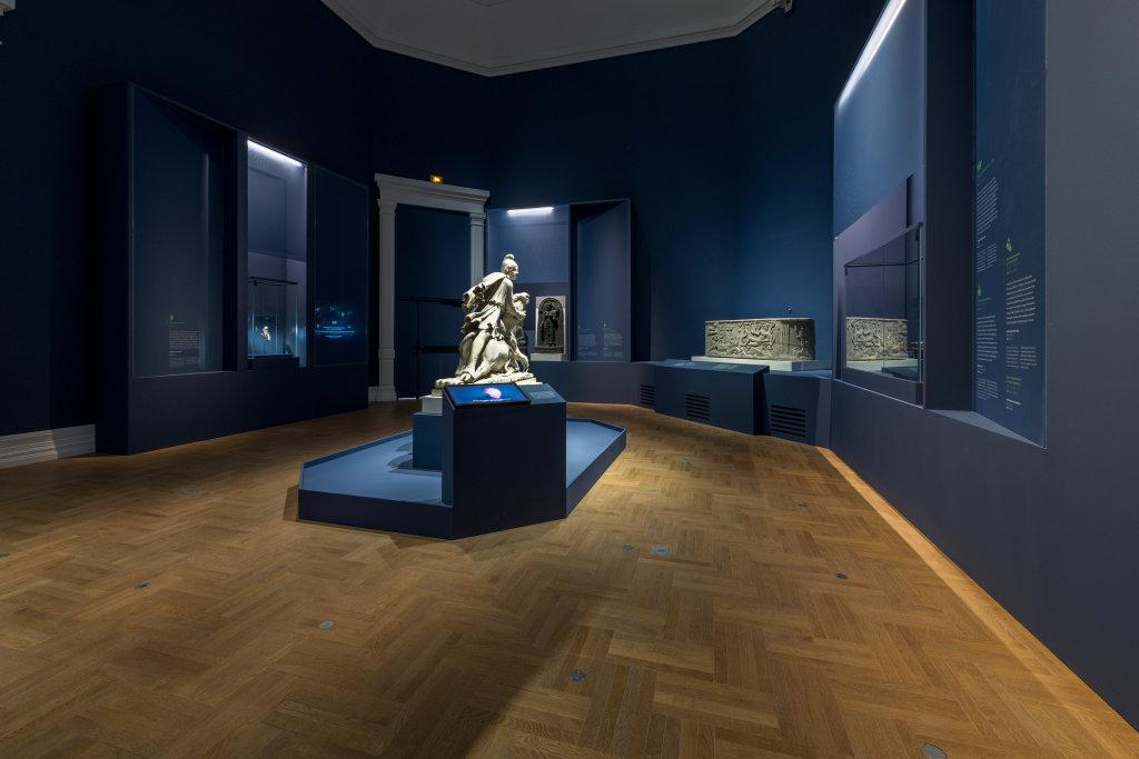 Vue de l'exposition Une histoire du monde en 100 objets du British Muséum - Musée des Beaux-Arts de Valenciennes © Photos - Service communication ville de Valenciennes (25)