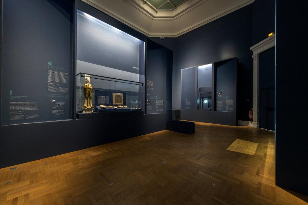 Vue de l'exposition Une histoire du monde en 100 objets du British Muséum - Musée des Beaux-Arts de Valenciennes © Photos - Service communication ville de Valenciennes (27)