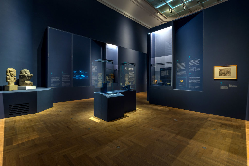 Vue de l'exposition Une histoire du monde en 100 objets du British Muséum - Musée des Beaux-Arts de Valenciennes © Photos - Service communication ville de Valenciennes (28)