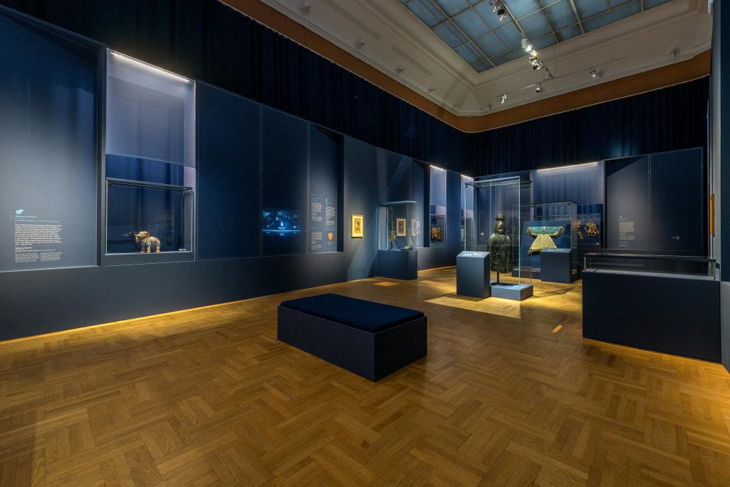 Vue de l'exposition Une histoire du monde en 100 objets du British Muséum - Musée des Beaux-Arts de Valenciennes © Photos - Service communication ville de Valenciennes (30)