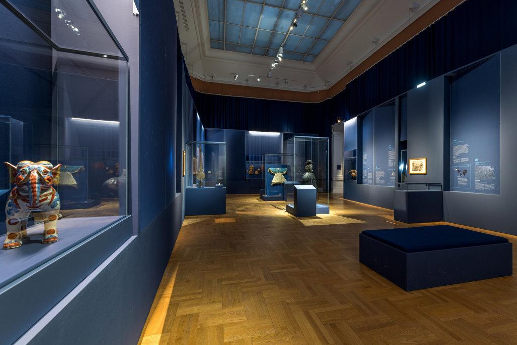 Vue de l'exposition Une histoire du monde en 100 objets du British Muséum - Musée des Beaux-Arts de Valenciennes © Photos - Service communication ville de Valenciennes (31)