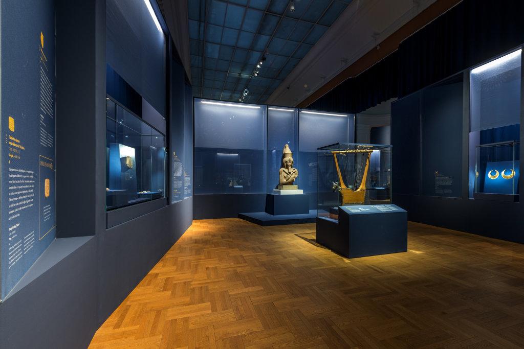 Vue de l'exposition Une histoire du monde en 100 objets du British Muséum - Musée des Beaux-Arts de Valenciennes © Photos - Service communication ville de Valenciennes (32)