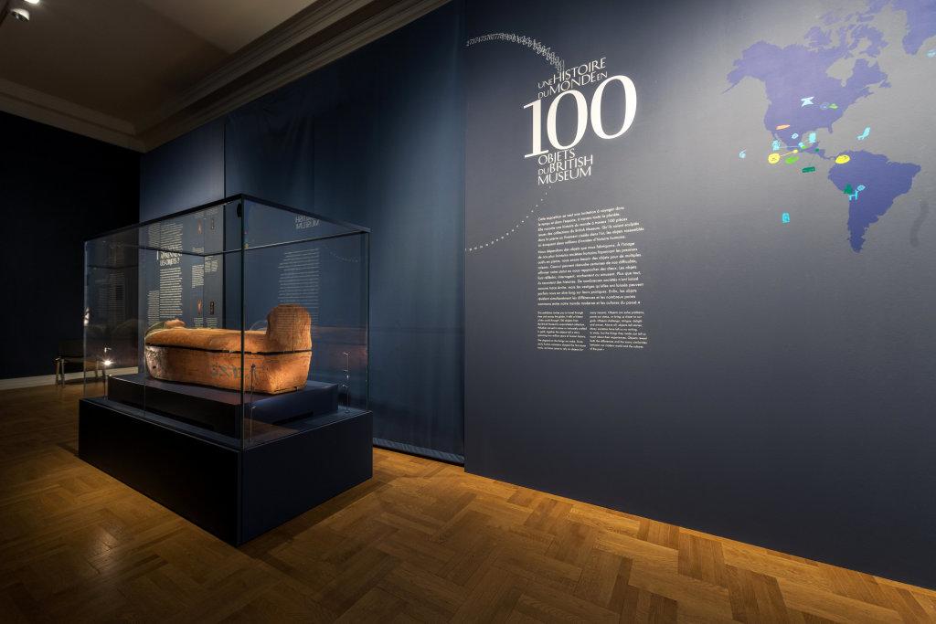Vue de l'exposition Une histoire du monde en 100 objets du British Muséum - Musée des Beaux-Arts de Valenciennes © Photos - Service communication ville de Valenciennes (5)