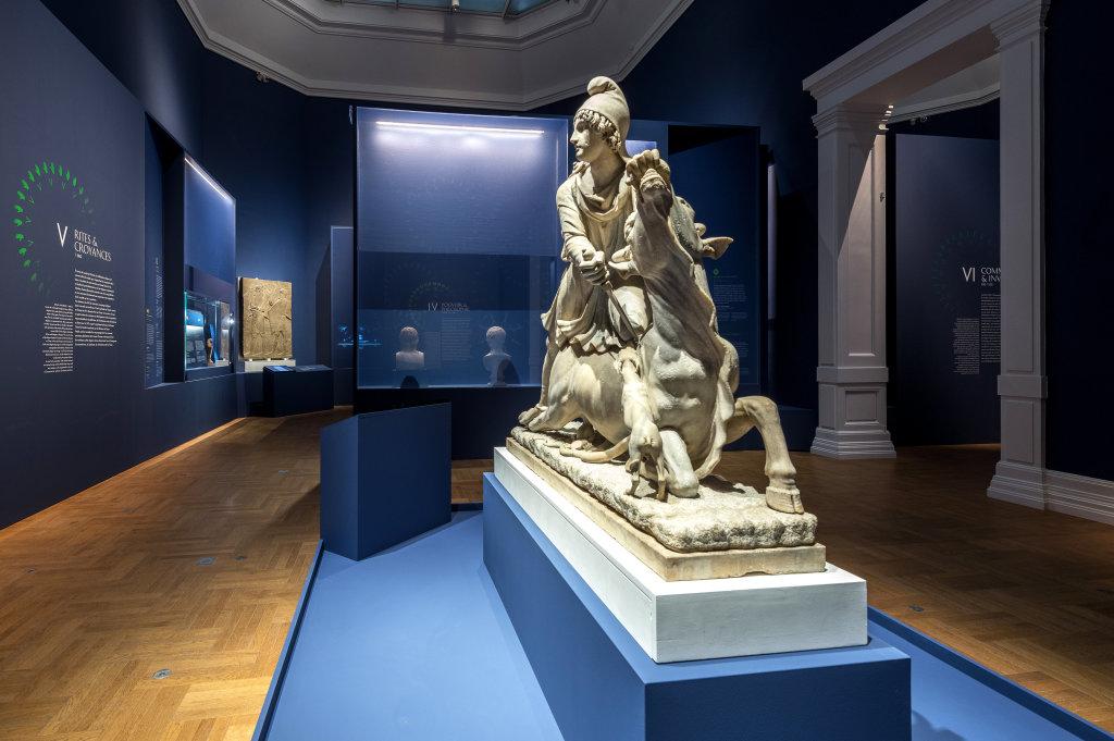 Vue de l'exposition Une histoire du monde en 100 objets du British Muséum - Musée des Beaux-Arts de Valenciennes © Photos - Service communication ville de Valenciennes (6)