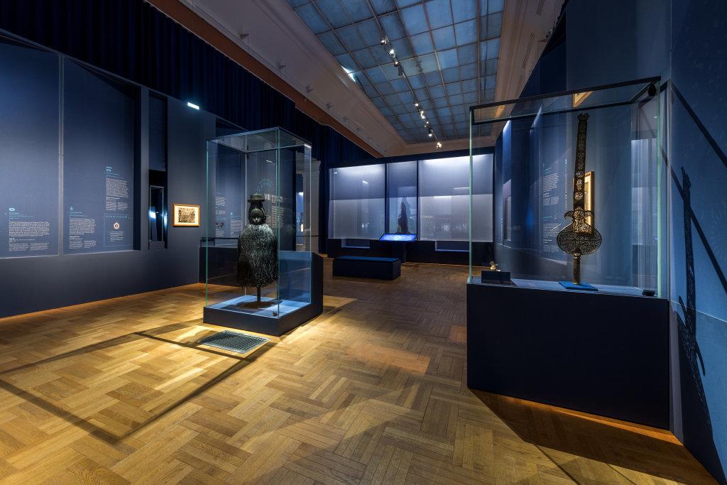 Vue de l'exposition Une histoire du monde en 100 objets du British Muséum - Musée des Beaux-Arts de Valenciennes © Photos - Service communication ville de Valenciennes (7)