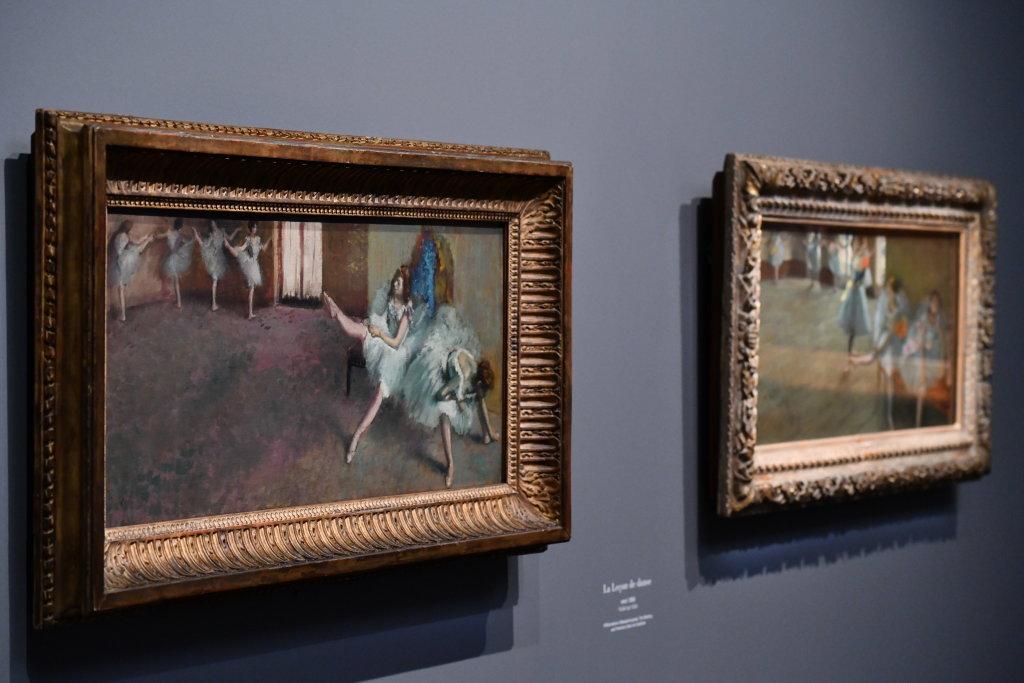 Vue d'exposition - Degas à l'opéra - Musée d'Orsay Paris (13)