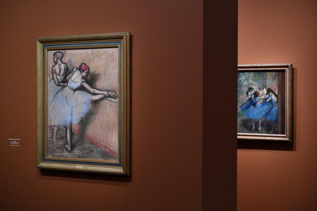 Vue d'exposition - Degas à l'opéra - Musée d'Orsay Paris (14)