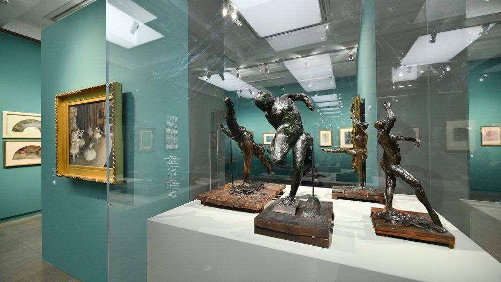 Vue d'exposition - Degas à l'opéra - Musée d'Orsay Paris (2)